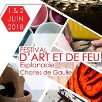 Festival d'Art et de Feu 1 & 2 juin 2018 Montpellier