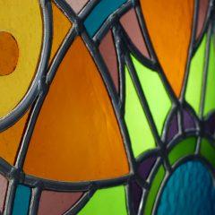 création de vitrail