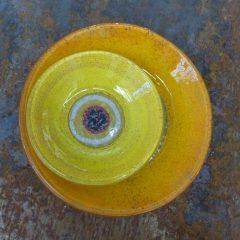 Fusing , objets en verre fusionnés